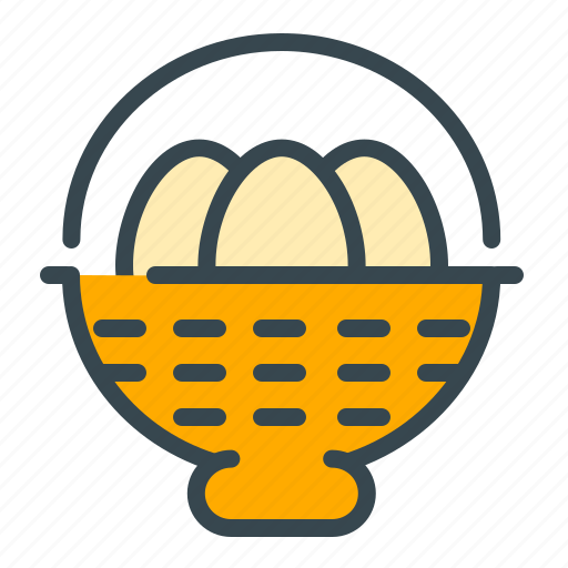 basket, celebration, egg, holiday, hunt, national icon