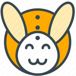 animal, bunny, celebration, easter, happy, rabbit icon