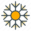 celebration, christmas, ice, snow, snowflake, winter icon