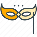 celebration, disguise, mascarade, mask, party icon
