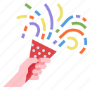 celebaration, confetti, newyears, party, patern