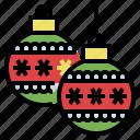 ball, celebaration, decoration, garland, party