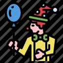 birthday, celebaration, clown, comedian, joker