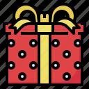 box, celebaration, gift, location, party, shopping