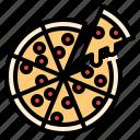 celebaration, food, italian, party, pizza