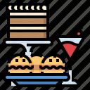 celebaration, food, party, restaurant