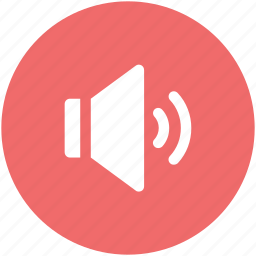 audio, loudspeaker, sound, speaker, volume icon