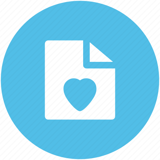 heart, letter, love letter, valentine greeting icon