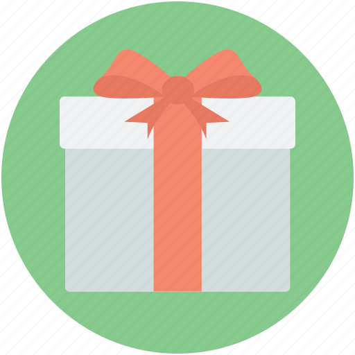 gift, gift box, present, present box, wrapped gift icon