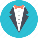 dinner jacket, dinner suit, formal suit, tux, tuxedo icon