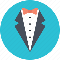 dinner jacket, dinner suit, formal suit, tux, tuxedo icon