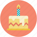 birthday cake, cake, cake with candles, celebration, christmas cake icon