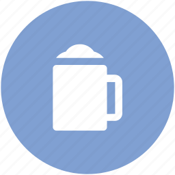 alcohol, ale, beer, beer mug, chilled beer, drink icon