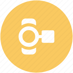 camcorder, device, handy cam, video camera, video recording icon