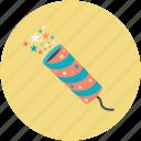 dynamite, explode, explosion, firework, firework rocket icon