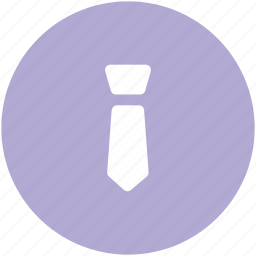 businessman, formal tie, necktie, tie, uniform tie icon