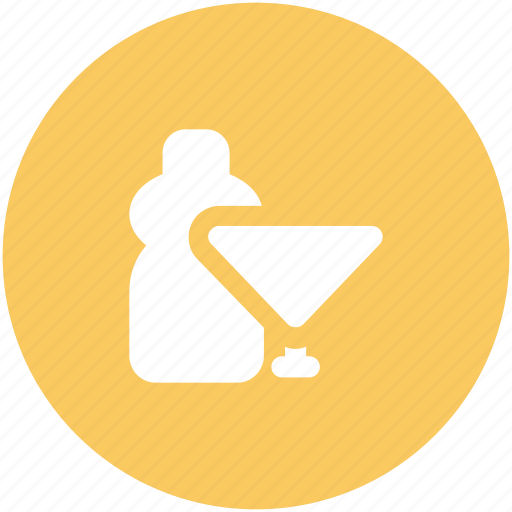 alcohol, champagne bottle, drink, drink bottle, glass, wine, wine bottle icon