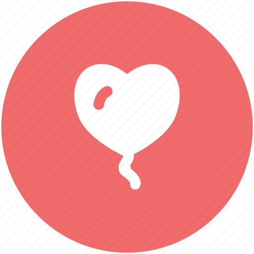birthday balloon, decoration balloon, heart balloon, party balloon, party decorations icon