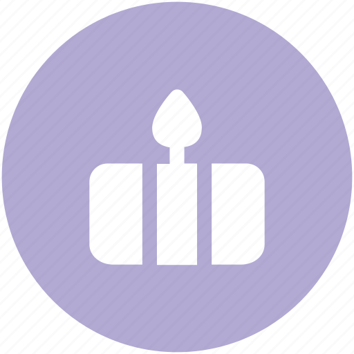 anniversary, birthday cake, cake, cake with candle, candles, celebration icon