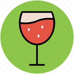 alcohol, alcoholic drink, beverage, drink, glass, wine glass icon