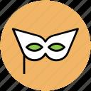 carnival mask, costume mask, eye mask, mardi gras mask, mask icon