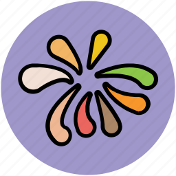 garland, party decorations, party flags, streamers, streamers flag icon