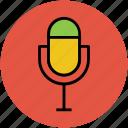 colloquially mic, mic, microphone, multimedia, radio mic icon