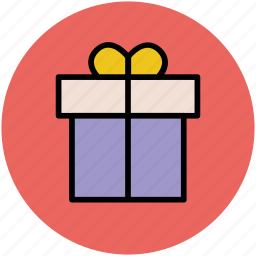 birthday gift, box, gift, gift hamper, party, present, surprise gift icon