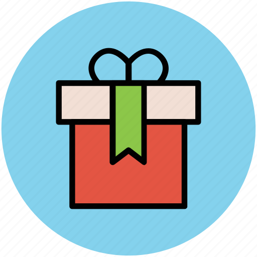 birthday gift, box, christmas gift, gift, gift hamper, party, present, surprise gift icon