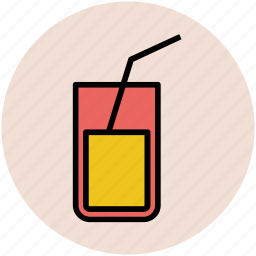 beverage, cold drink, drink, glass, juice, lemonade icon