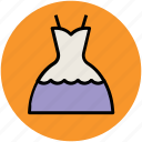 clothing, fashion, frock, party dress, party gown, woman dress icon