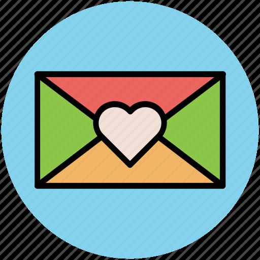 envelope, letter, letter envelope, love letter, romantic letter icon