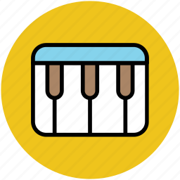 digital keyboard, electric keyboard, electric piano, home keyboard, piano, portable keyboard icon
