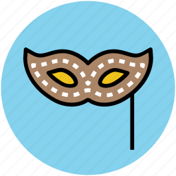 carnival mask, costume mask, eye mask, mardi gras mask, mask icon