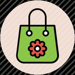handbag, purse, shoulder bag, woman accessories, woman bag icon
