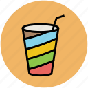 disposable glass, drink, glass, juice cup, paper cup icon
