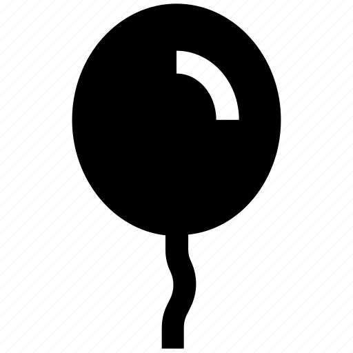Balloon, party balloon, birthday balloon, party decoration, decoration balloon icon - Download