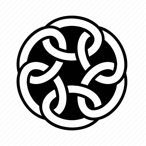 celtic, knot icon