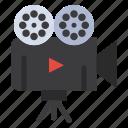 camera, film, projector, video icon