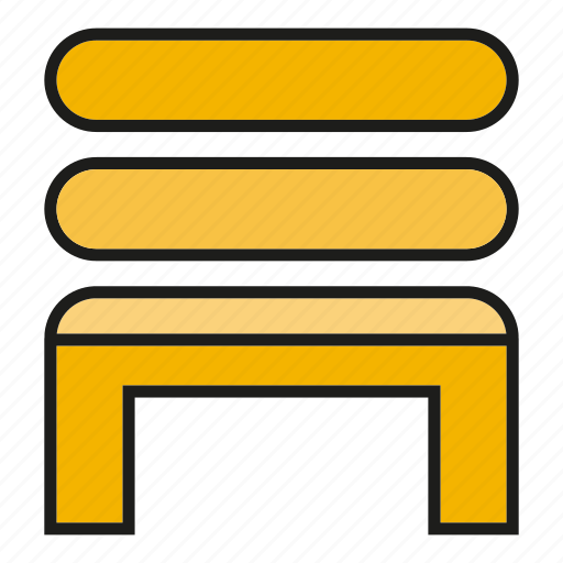 bench, chair, couch, decor, furniture, interior, seat icon