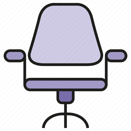 chair, decor, furniture, interior, office chair, seat icon