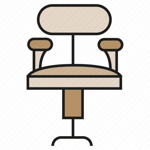 chair, couch, decor, furniture, interior, office chair, seat icon