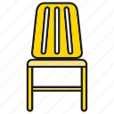 chair, decor, furniture, interior, seat icon