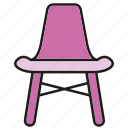 chair, couch, decor, furniture, interior, seat icon