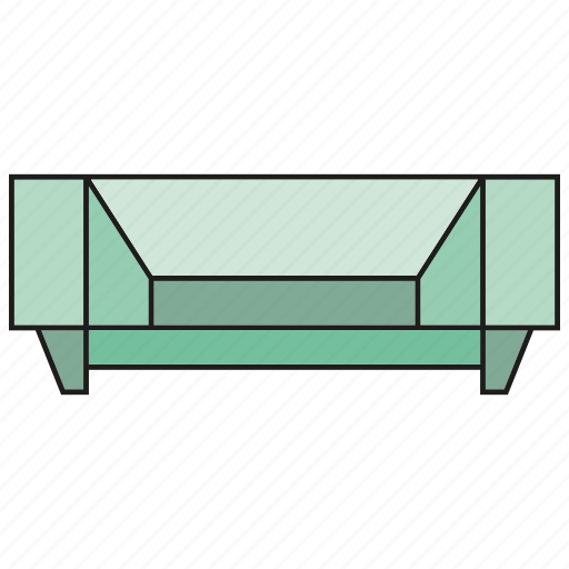 bench, chair, couch, furniture, interior, seat, sofa icon