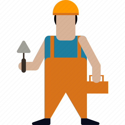 builder, building, construction, repair, tool, towel, worker icon