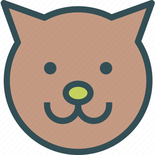 animal, avatar, cat, character, profile, smileface icon