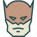 avatar, batman, character, movie, profile, smileface, superhero icon