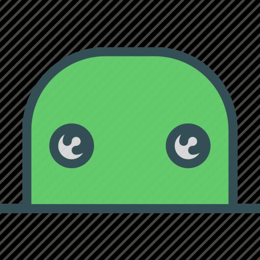 avatar, character, eyes, profile, smileface icon