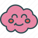 avatar, blush, character, profile, smileface icon